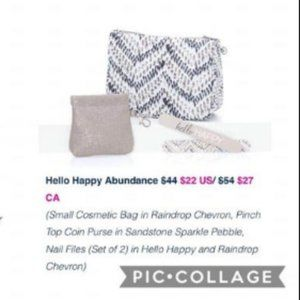 Thirty-One Hello Happy Abundance Raindrop